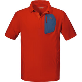 Schöffel Rosaria Polo Shirt Men fiery red